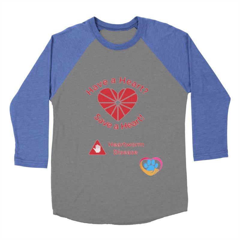 Have a Heart? Men's Baseball Triblend Longsleeve T-Shirt by The Gear Shop