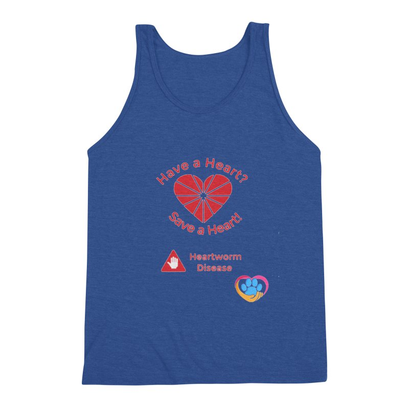 Have a Heart? Men's Triblend Tank by The Gear Shop