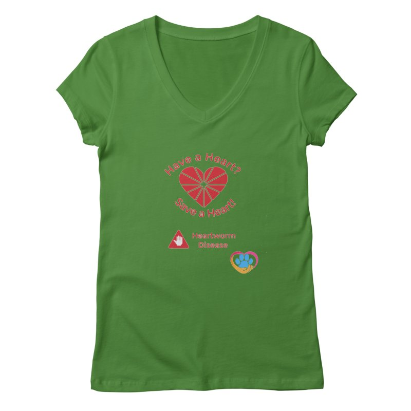 Have a Heart? Women's Regular V-Neck by The Gear Shop