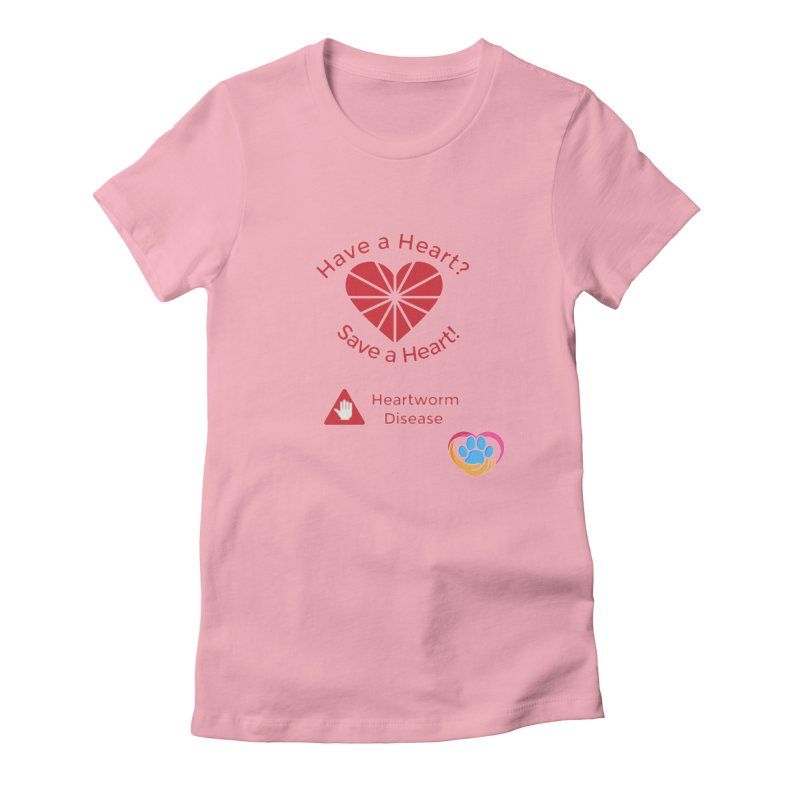 Have a Heart? Women's Fitted T-Shirt by The Gear Shop