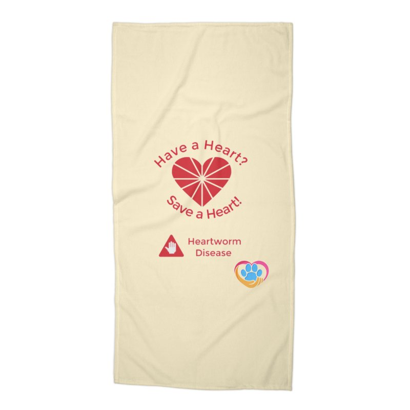 Have a Heart? Accessories Beach Towel by The Gear Shop