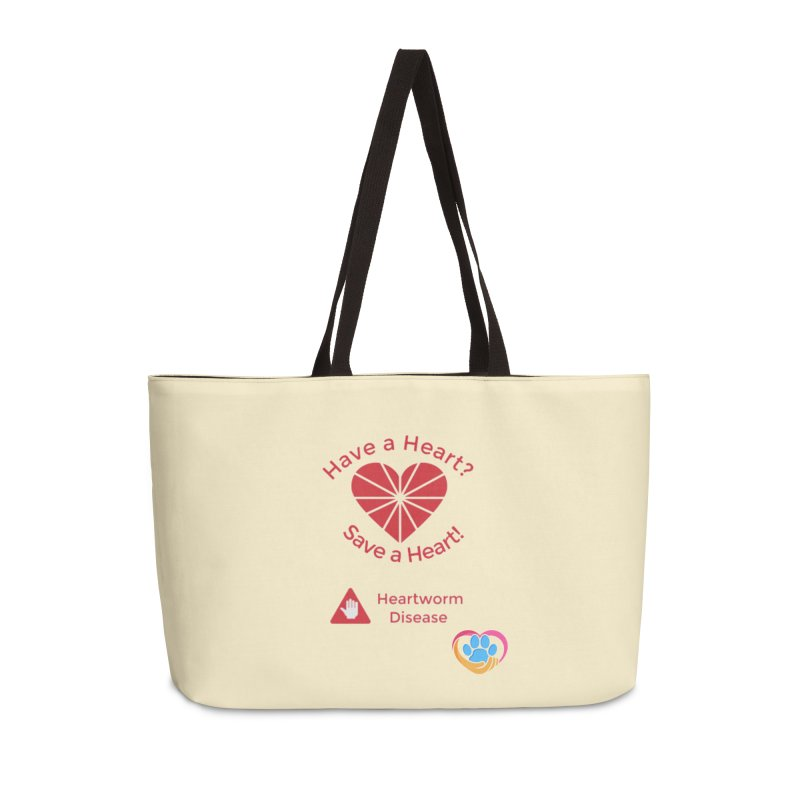 Have a Heart? Accessories Weekender Bag Bag by The Gear Shop