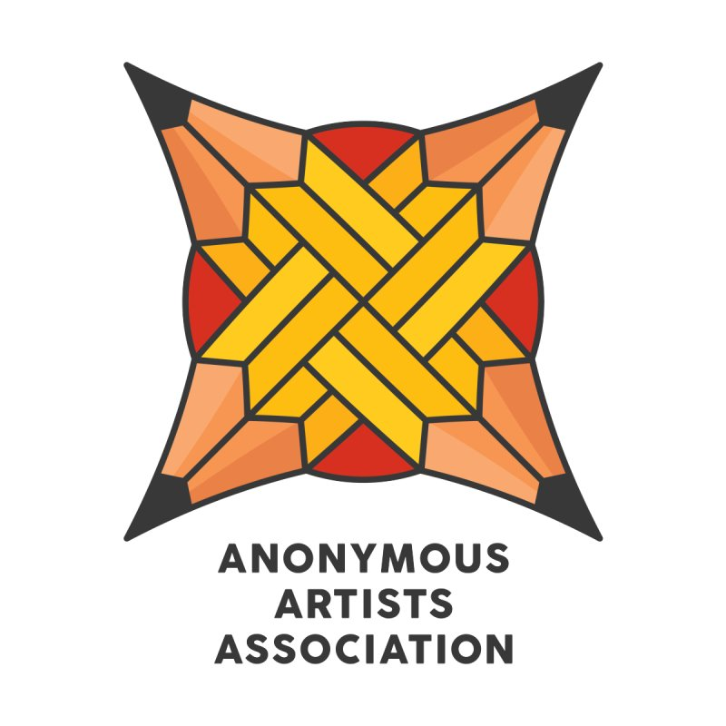 AAA - Anonymous Artists Association Men's T-Shirt by paagal's Artist Shop