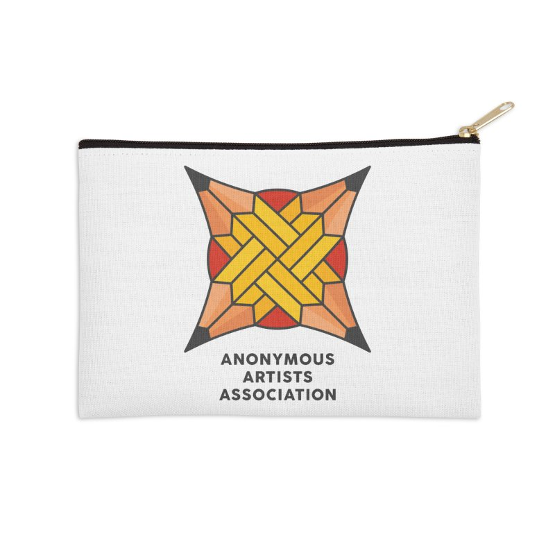 AAA - Anonymous Artists Association Accessories Zip Pouch by paagal's Artist Shop