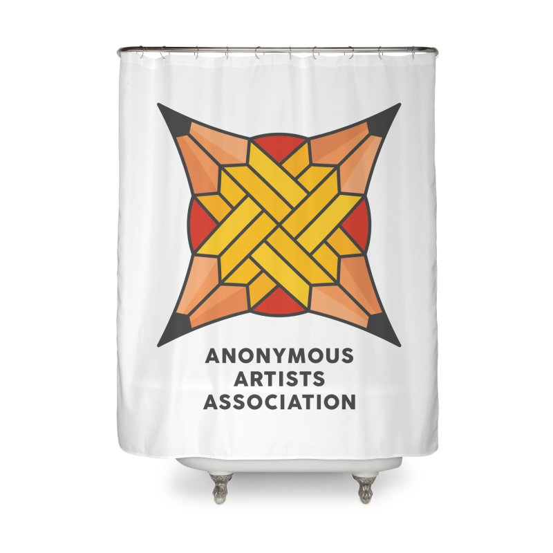 AAA - Anonymous Artists Association Home Shower Curtain by paagal's Artist Shop