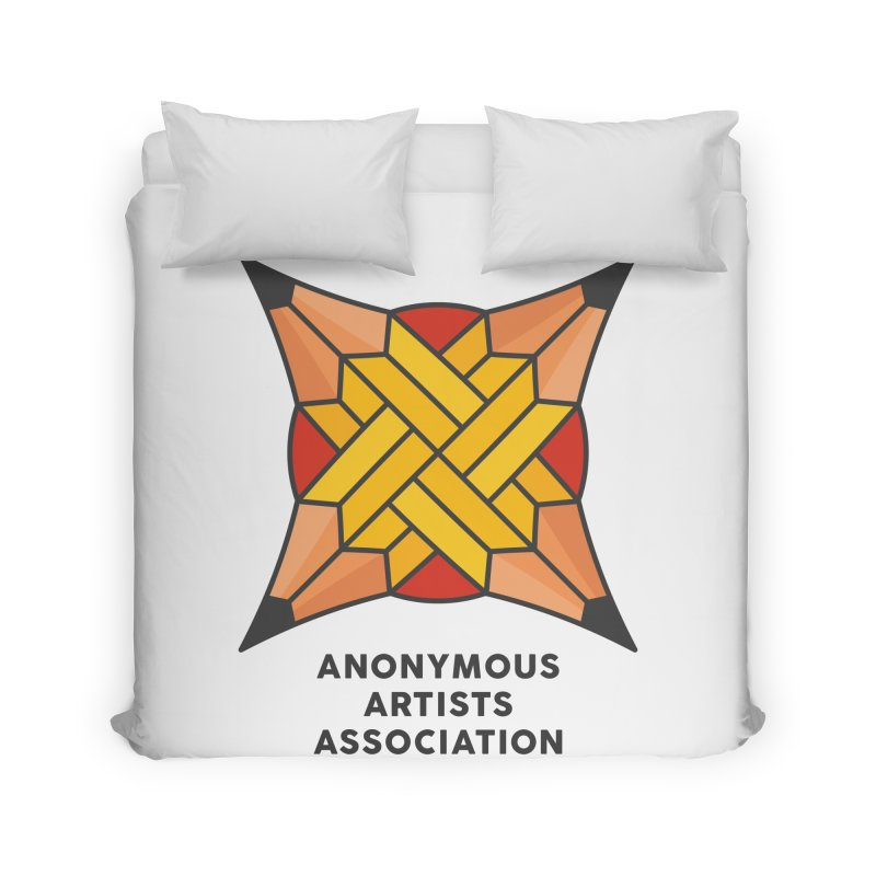 AAA - Anonymous Artists Association Home Duvet by paagal's Artist Shop