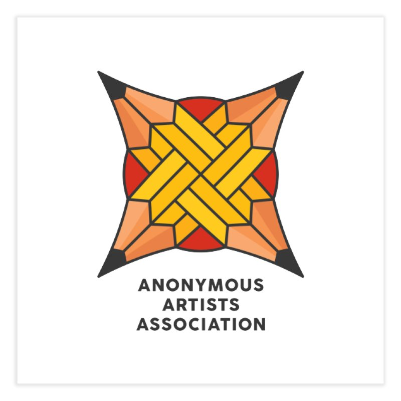 AAA - Anonymous Artists Association Home Fine Art Print by paagal's Artist Shop