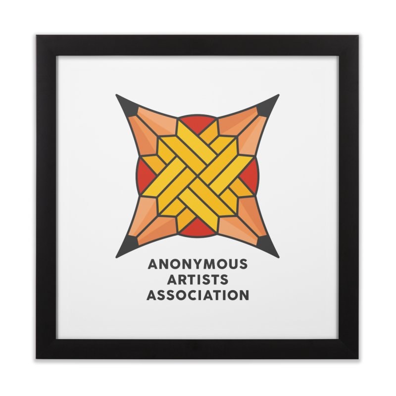 AAA - Anonymous Artists Association Home Framed Fine Art Print by paagal's Artist Shop