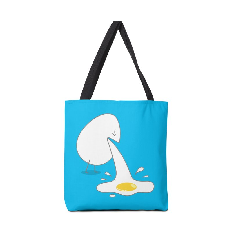 Egg Puking Omelet Accessories Bag by paagal's Artist Shop