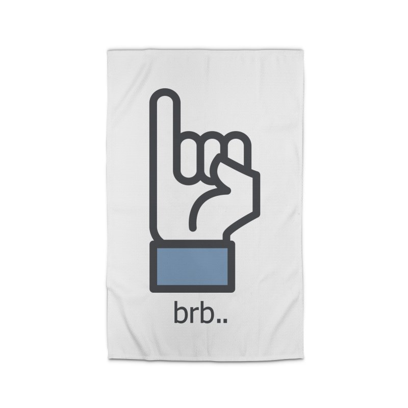 brb.. Home Rug by paagal's Artist Shop