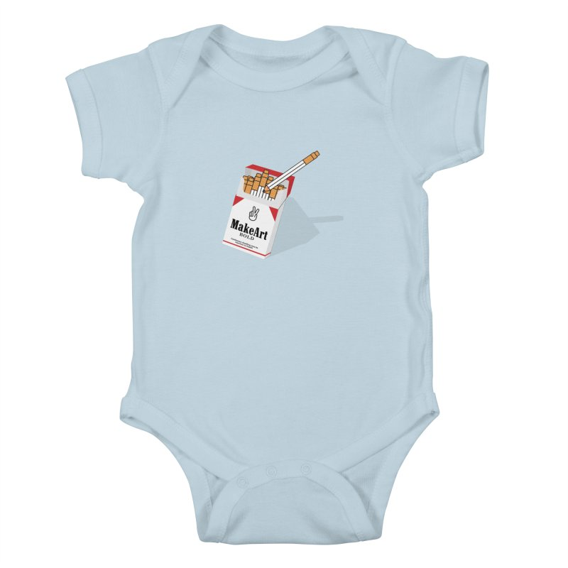 Make Art Bold Kids Baby Bodysuit by paagal's Artist Shop