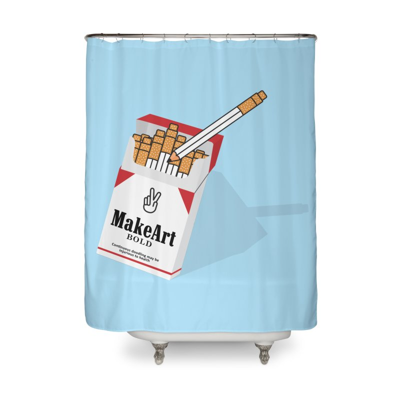 Make Art Bold Home Shower Curtain by paagal's Artist Shop