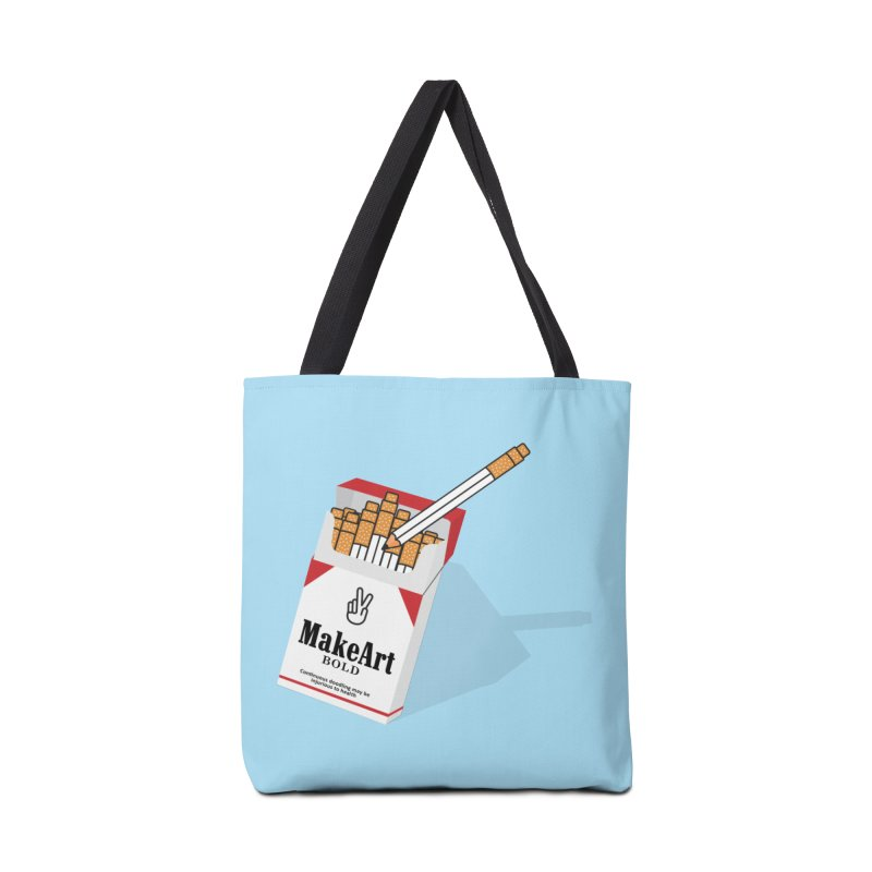 Make Art Bold Accessories Bag by paagal's Artist Shop