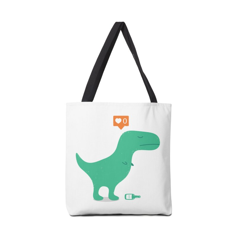 Loner Dino Accessories Bag by paagal's Artist Shop