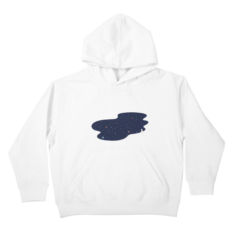 Space Pool Kids Pullover Hoody by paagal's Artist Shop