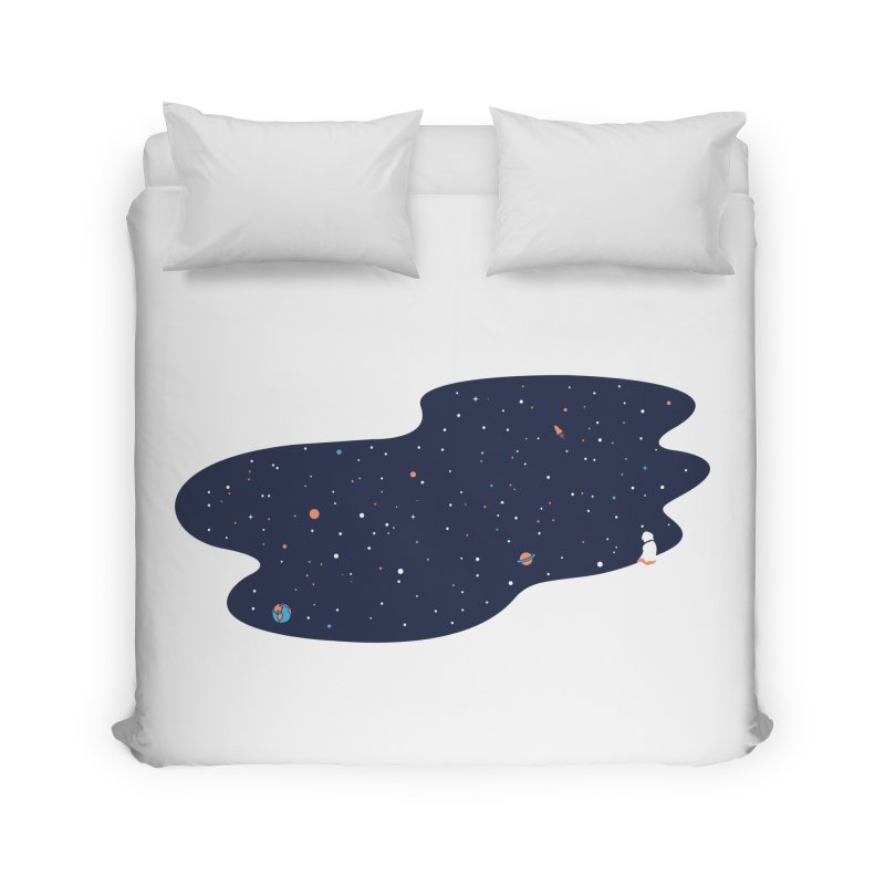 Space Pool Home Duvet by paagal's Artist Shop