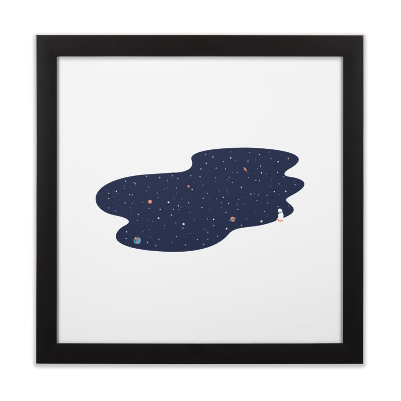 Space Pool Home Framed Fine Art Print by paagal's Artist Shop