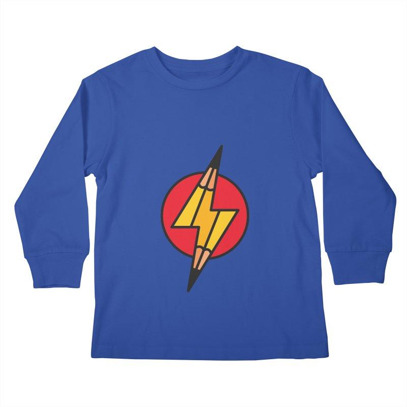 Make something striking! Kids Longsleeve T-Shirt by paagal's Artist Shop