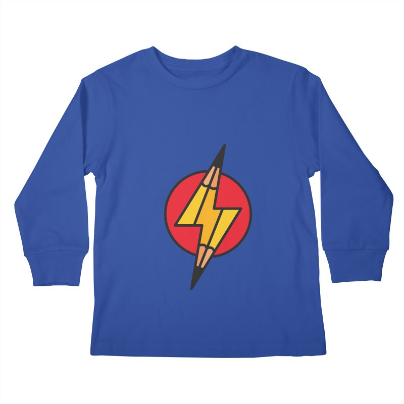 Make something striking! Kids Longsleeve T-Shirt by paagal's Artist Shop