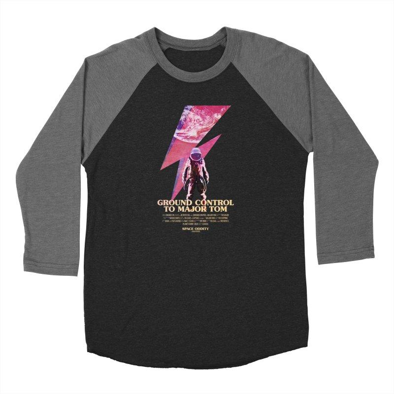 Space Oddity Men's Baseball Triblend Longsleeve T-Shirt by Pablo Zarate Inc. on Threadless