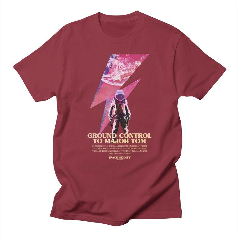 Space Oddity Men's Regular T-Shirt by Pablo Zarate Inc. on Threadless