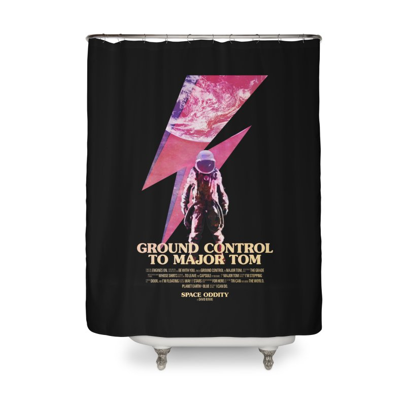 Space Oddity Home Shower Curtain by Pablo Zarate Inc. on Threadless