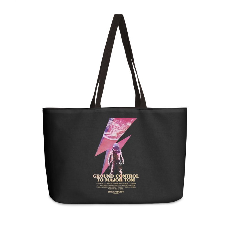 Space Oddity Accessories Weekender Bag Bag by Pablo Zarate Inc. on Threadless