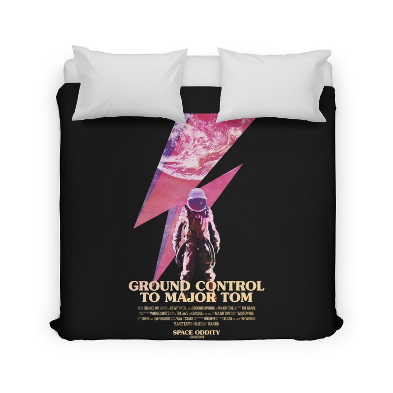 Space Oddity Home Duvet by Pablo Zarate Inc. on Threadless