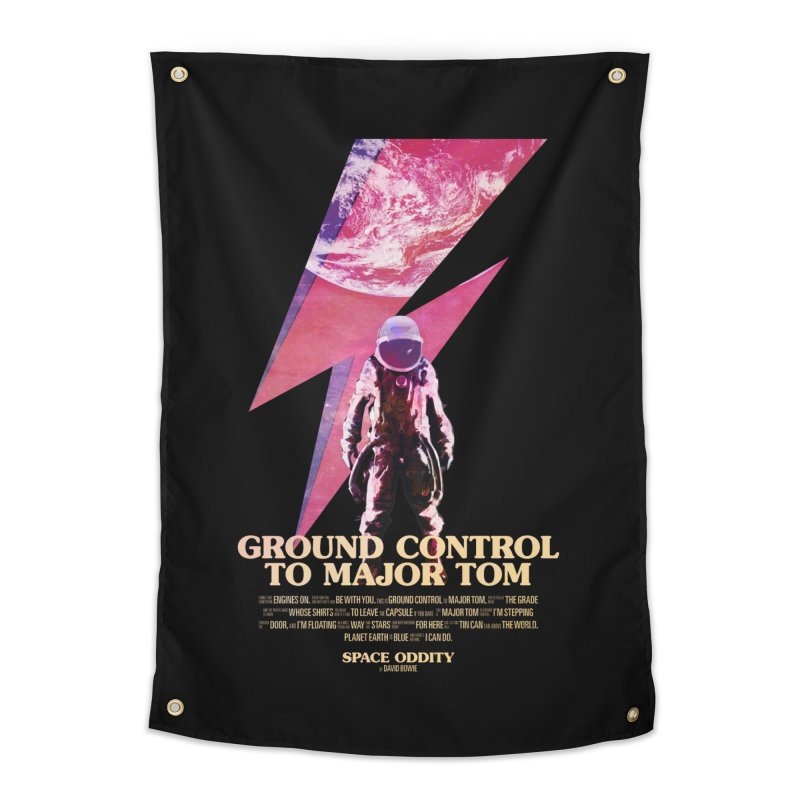 Space Oddity Home Tapestry by Pablo Zarate Inc. on Threadless