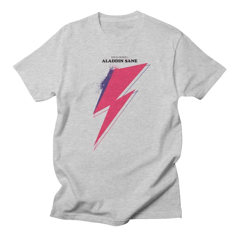 David Bowies's Aladdin Sane Men's Regular T-Shirt by Pablo Zarate Inc. on Threadless
