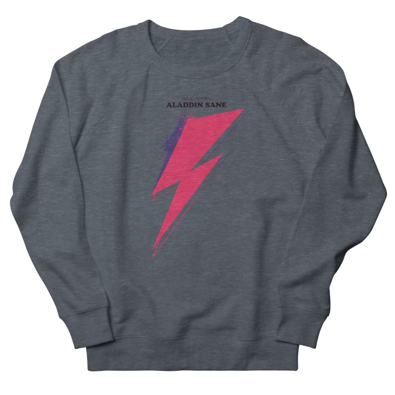 David Bowies's Aladdin Sane Men's French Terry Sweatshirt by Pablo Zarate Inc. on Threadless