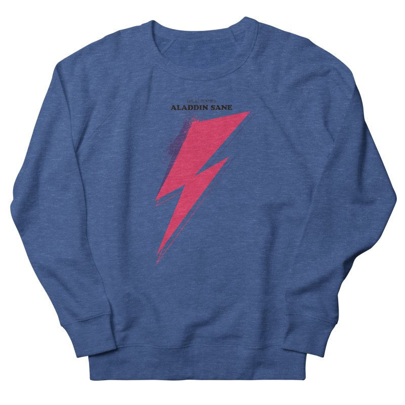 David Bowies's Aladdin Sane Men's Sweatshirt by Pablo Zarate Inc. on Threadless
