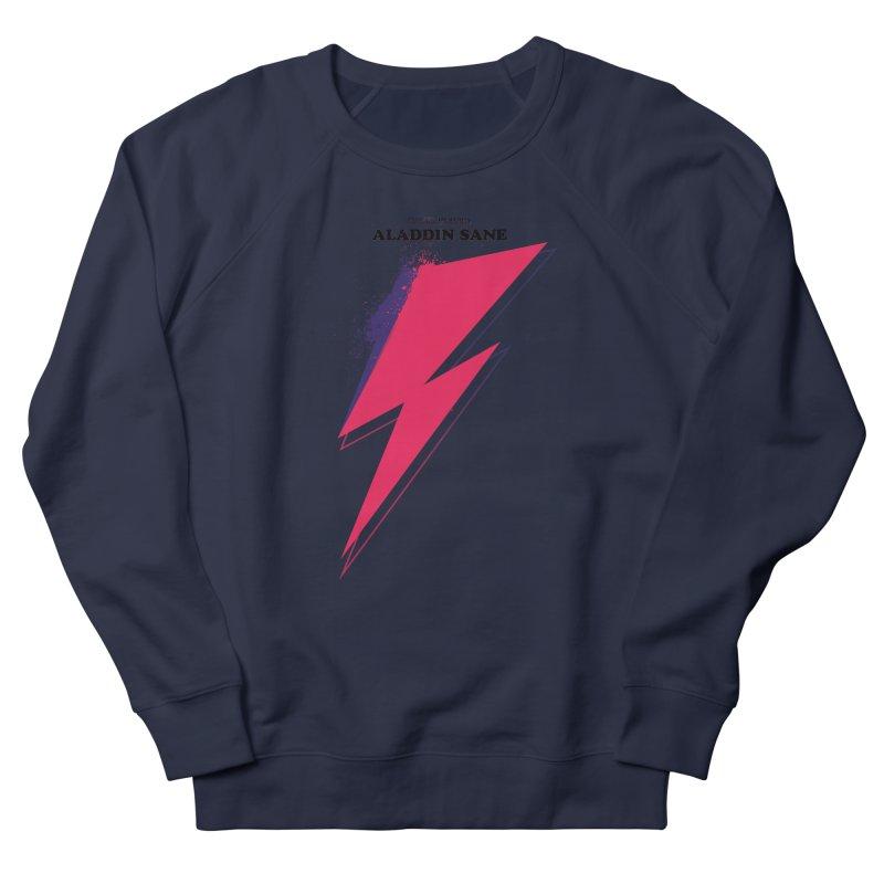 David Bowies's Aladdin Sane Men's French Terry Sweatshirt by Pablo Zarate Inc. on Threadless