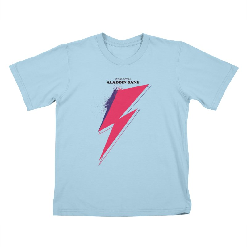 David Bowies's Aladdin Sane   by Pablo Zarate Inc. on Threadless