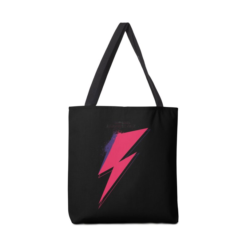 David Bowies's Aladdin Sane Accessories Bag by Pablo Zarate Inc. on Threadless