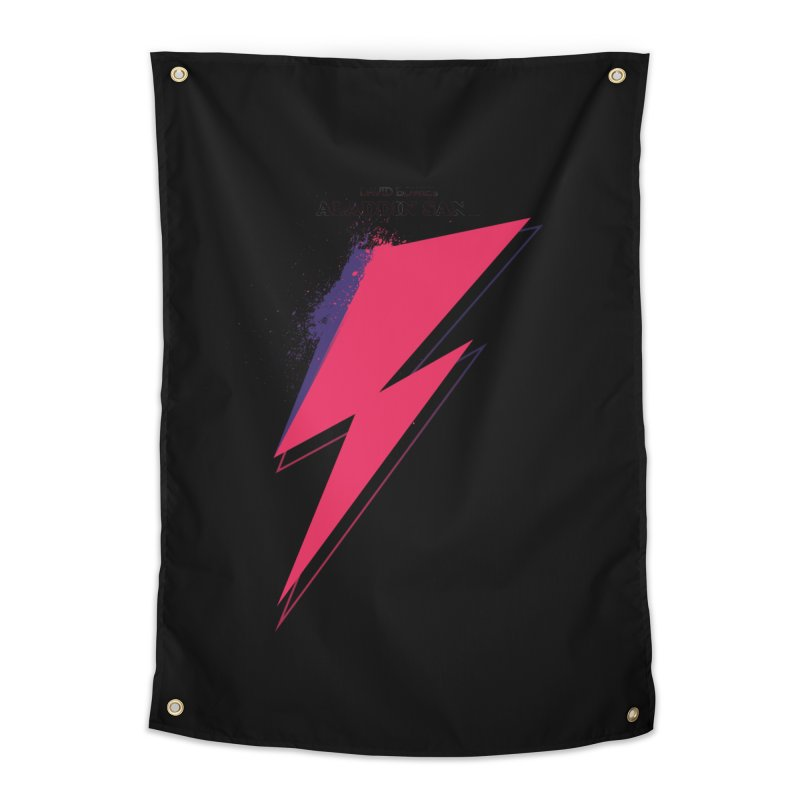 David Bowies's Aladdin Sane Home Tapestry by Pablo Zarate Inc. on Threadless