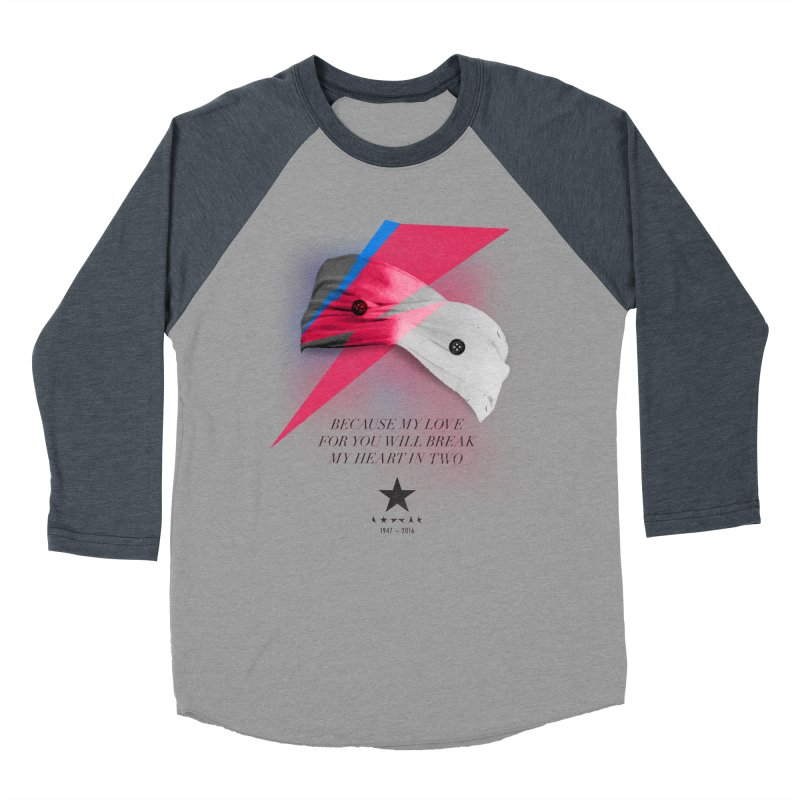 Blackstar (From Mars) Men's Baseball Triblend T-Shirt by Pablo Zarate Inc. on Threadless