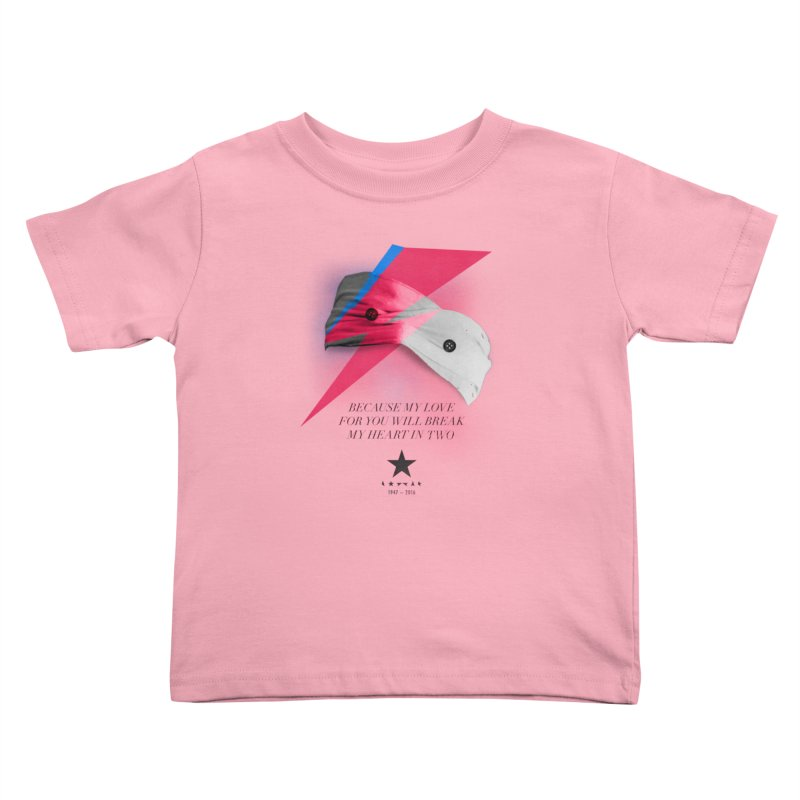 Blackstar (From Mars) Kids Toddler T-Shirt by Pablo Zarate Inc. on Threadless