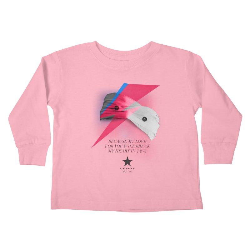 Blackstar (From Mars) Kids Toddler Longsleeve T-Shirt by Pablo Zarate Inc. on Threadless