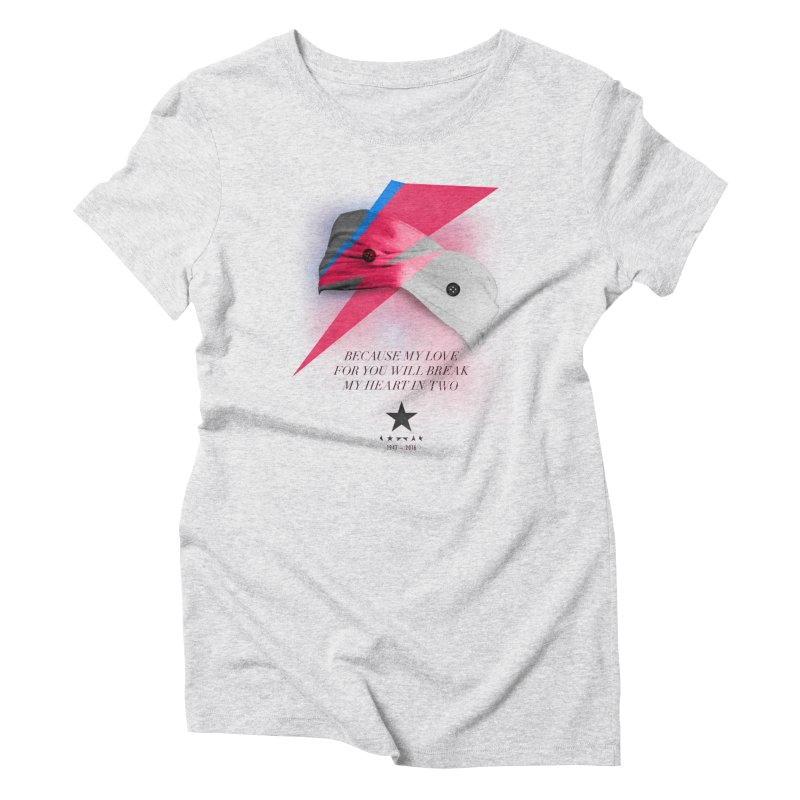 Blackstar (From Mars) Women's Triblend T-Shirt by Pablo Zarate Inc. on Threadless