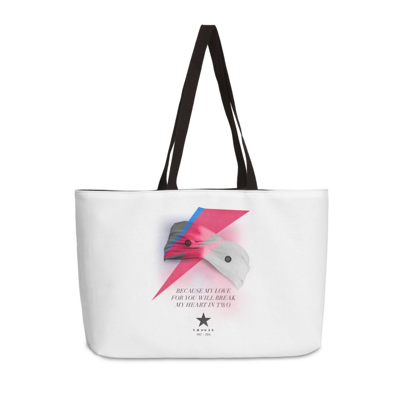 Blackstar (From Mars) Accessories Weekender Bag Bag by Pablo Zarate Inc. on Threadless
