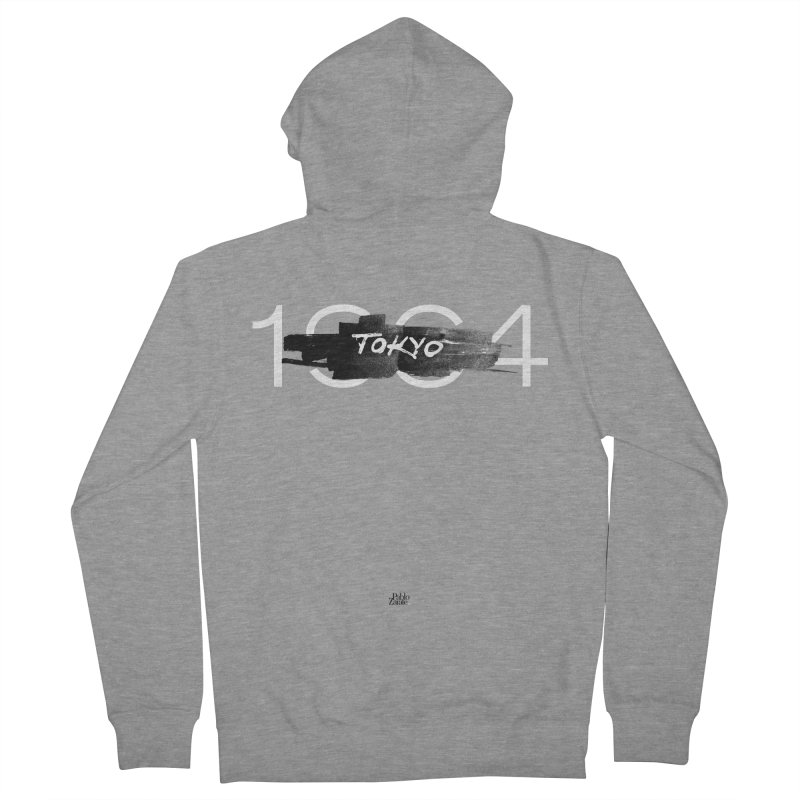 Tokyo Men's French Terry Zip-Up Hoody by Pablo Zarate Inc. on Threadless