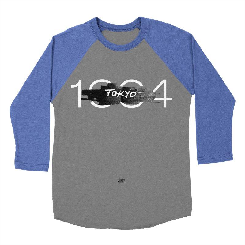 Tokyo Men's Baseball Triblend Longsleeve T-Shirt by Pablo Zarate Inc. on Threadless