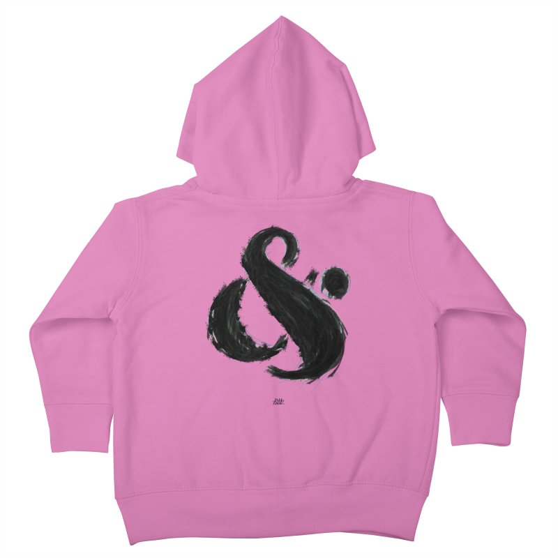 Ampersand Nº2 Kids Toddler Zip-Up Hoody by Pablo Zarate Inc. on Threadless