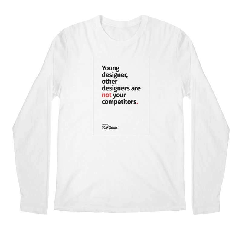 Young Designer #01 Men's Regular Longsleeve T-Shirt by Pablo Zarate Inc. on Threadless