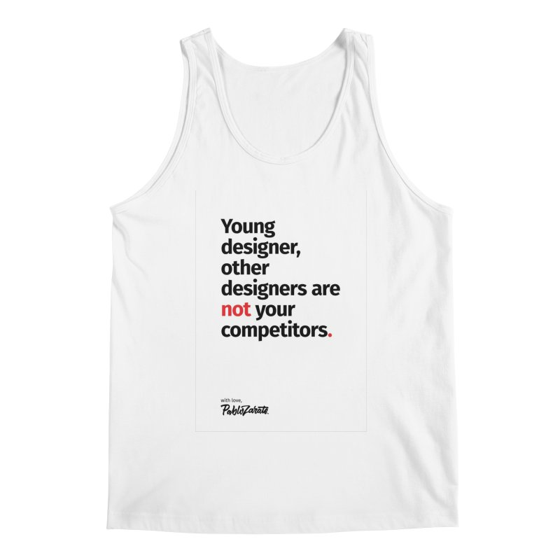 Young Designer #01 Men's Regular Tank by Pablo Zarate Inc. on Threadless