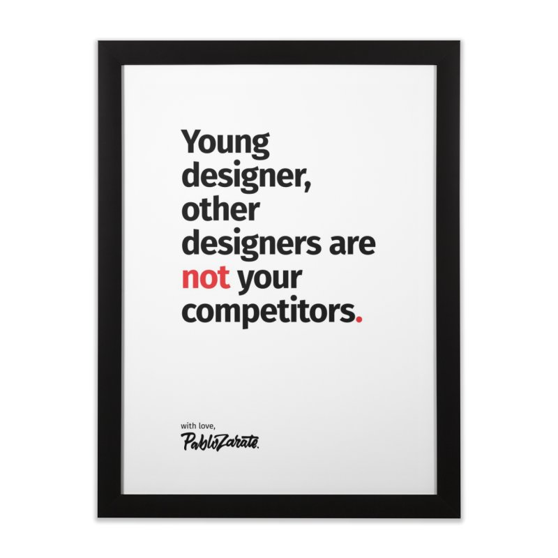 Young Designer #01   by Pablo Zarate Inc. on Threadless