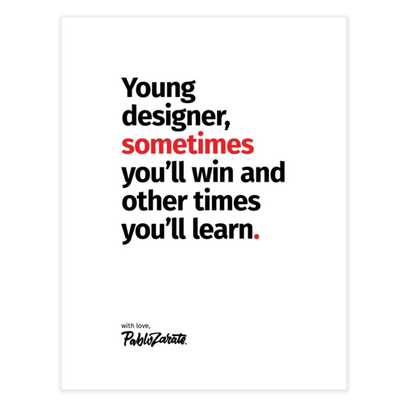 Young Designer #02 Home Fine Art Print by Pablo Zarate Inc. on Threadless