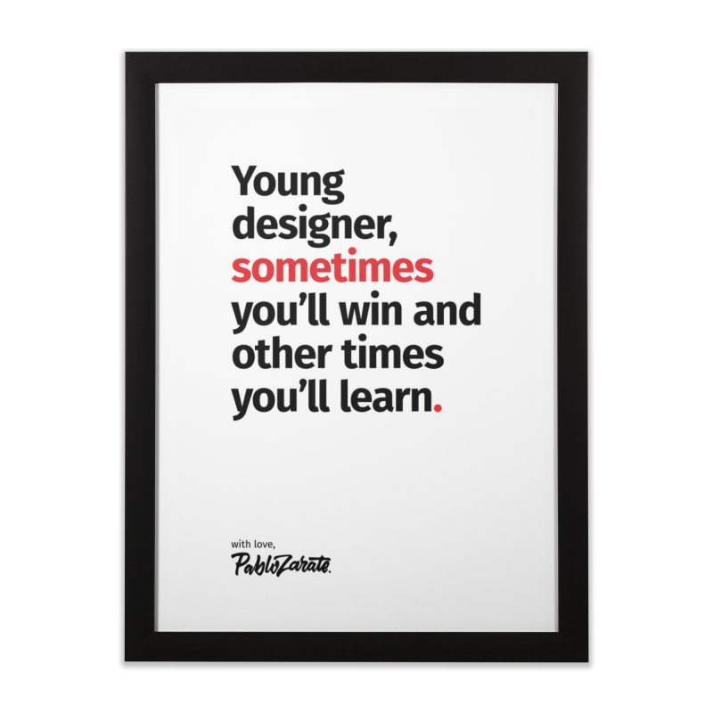 Young Designer #02 Home Framed Fine Art Print by Pablo Zarate Inc. on Threadless