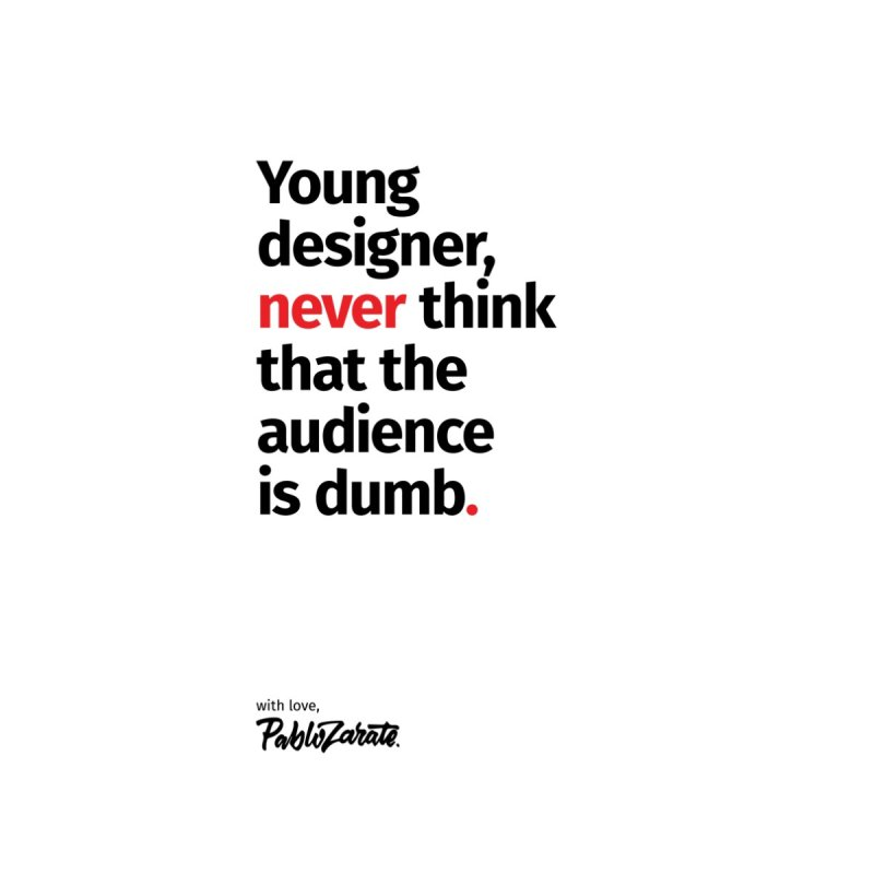 Young Designer #03 Home Fine Art Print by Pablo Zarate Inc. on Threadless